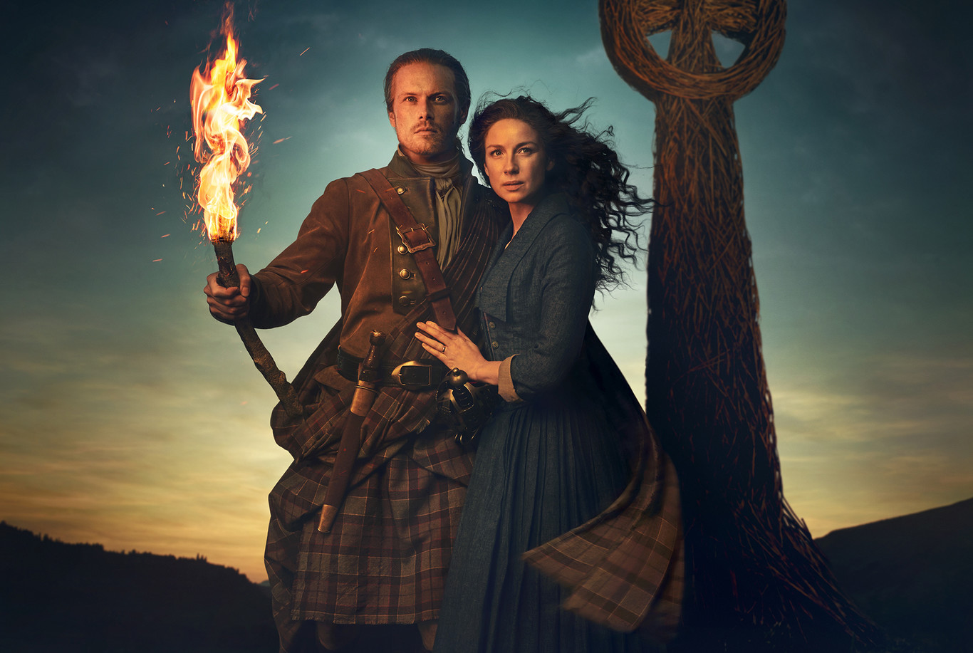Outlander Season 5 key art