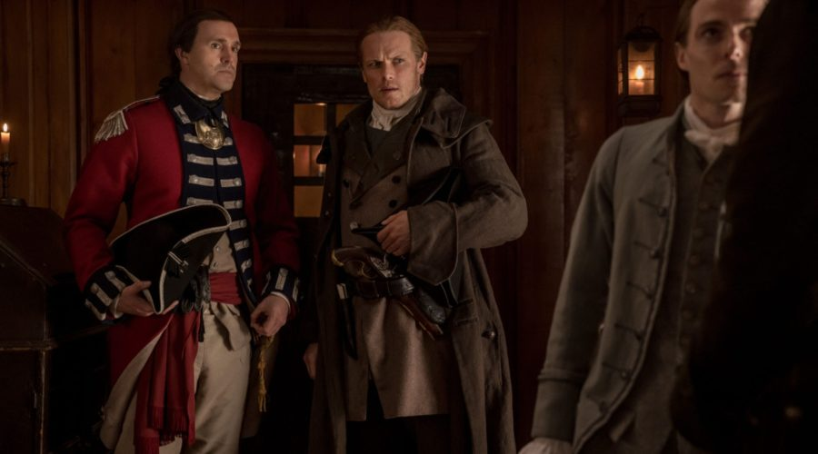 Outlander Cast: Between Two Fires