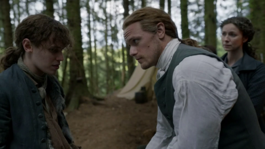 jamie and josiah beardsley, outlander episode 503 free will