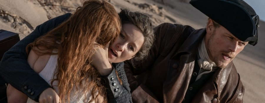 Outlander Behind-the-Scenes: A Day at the Beach Outlander style