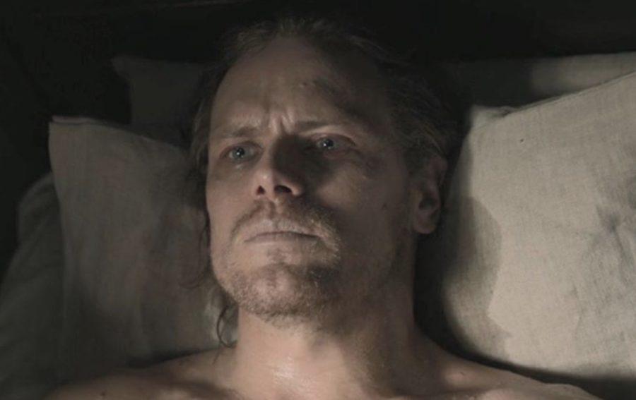 jamie on his death bed, outlander season 5