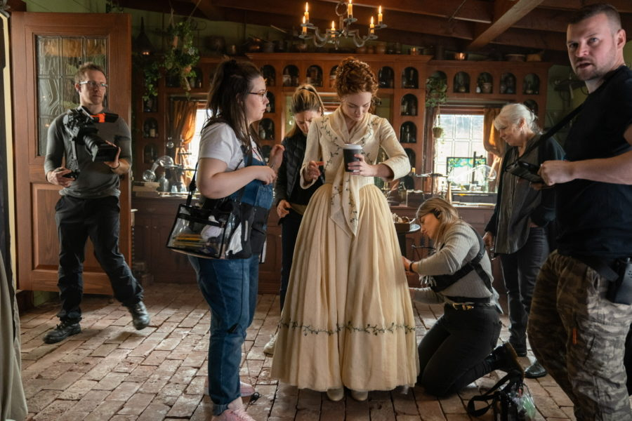 Brianna's wedding dress, outlander season 5