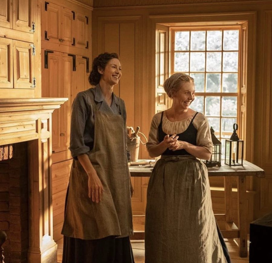 claire and marsali, outlander season 5