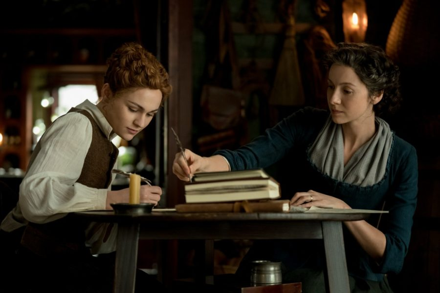 claire and brianna, outlander season 5