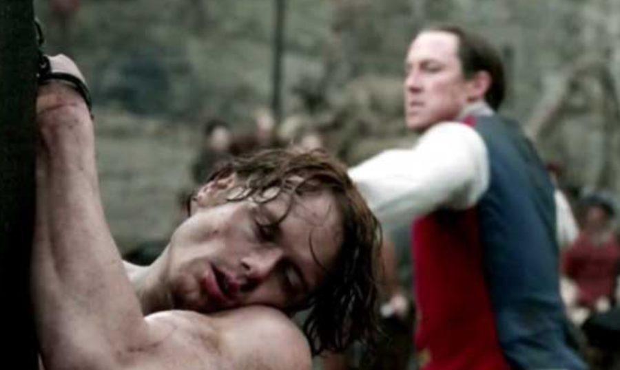 Black Jack Randall flogging Jamie, outlander season 1