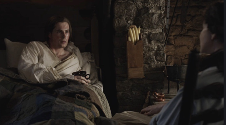 lord john grey sick with measles, contagion in outlander