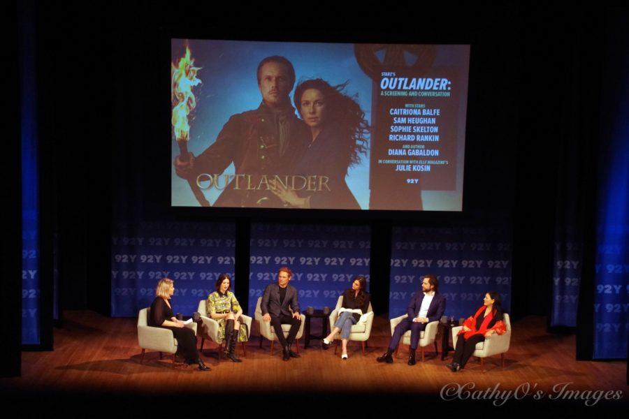 Outlander cast panel 92nd St Y, in diana gabaldon we trust