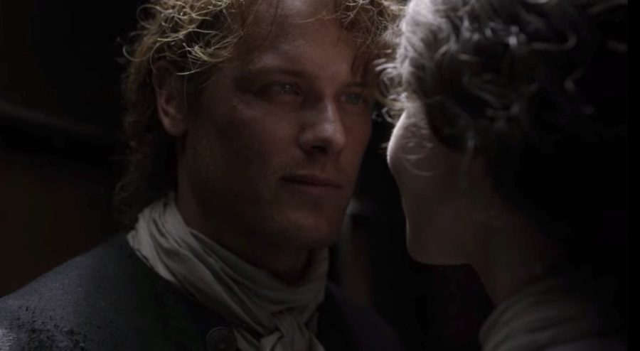 Jamie Fraser talks with Claire in Outander, contagion in outlander