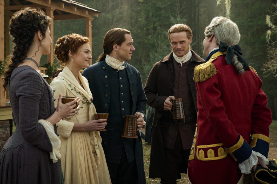 outlander season 5 cast, in diana gabaldon we trust