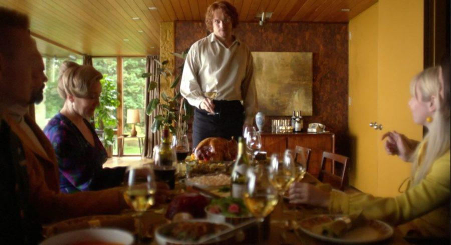 jamie proposes a toast, outlander season 5 finale