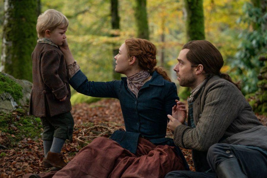 roger, bree and jemmy, outlander season 5 finale