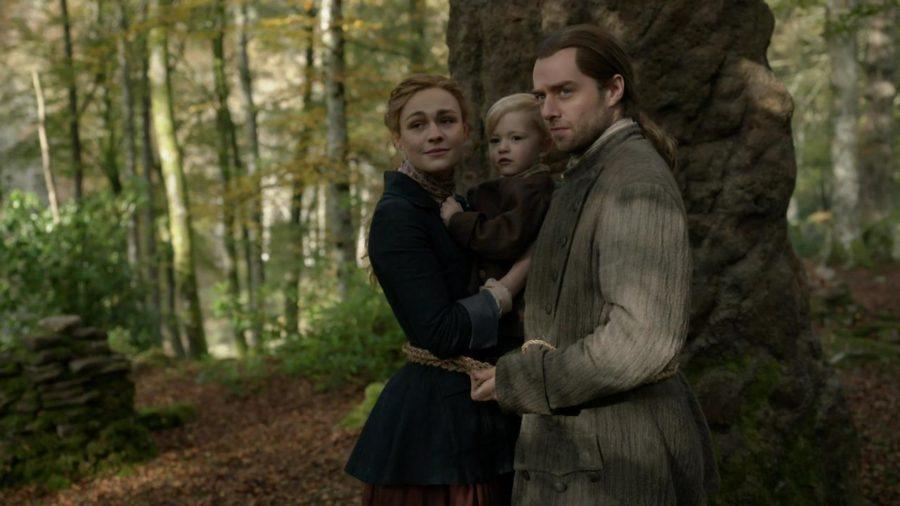 Outlander Journeycake, bree, roger and jemmy, in diana gabaldon we trust