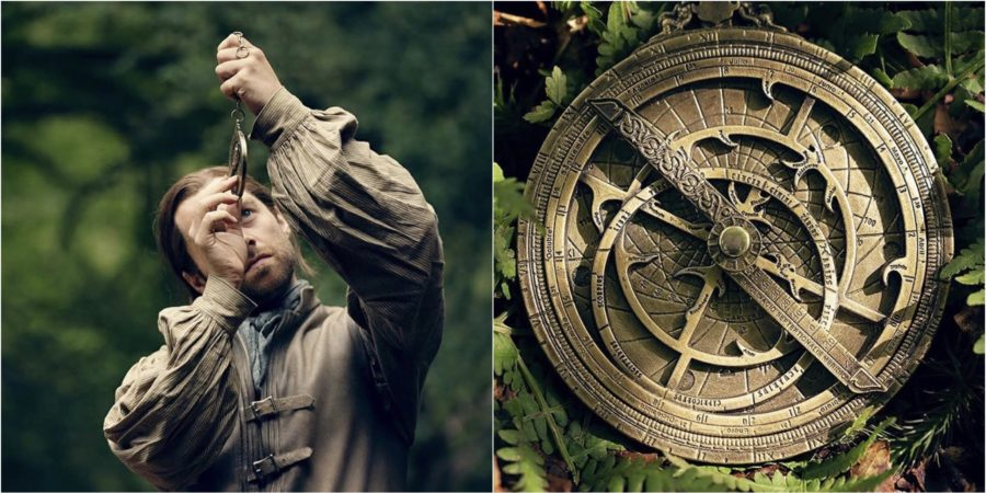 Roger in Outlander and the astrolabe