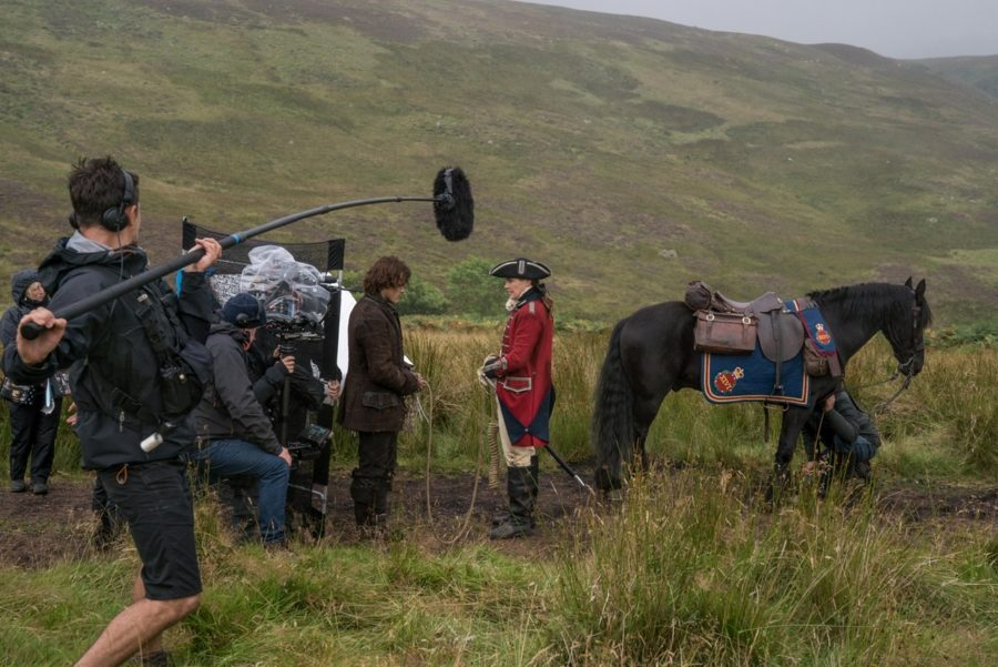 filming outlander, outlander photographer aimee spinks