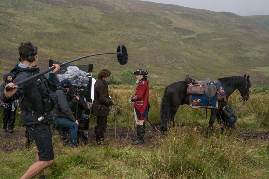 filming outlander, outlander photographer aimee spinks