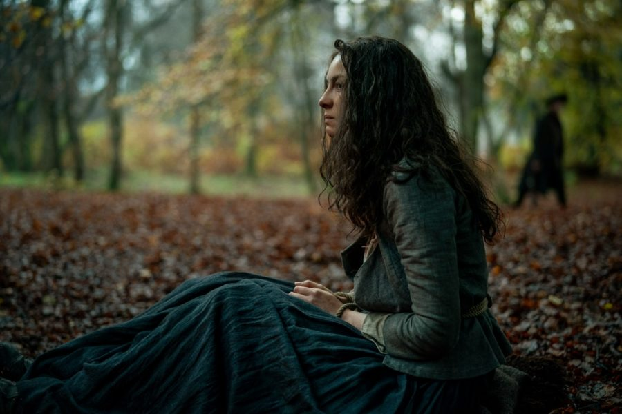 claire in the wood, outlander photographer aimee spinks