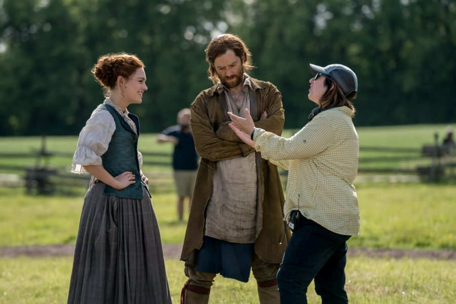 roger and brianna getting direction outlander