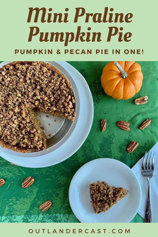Praline Pumpkin Pie Pinterest banner
