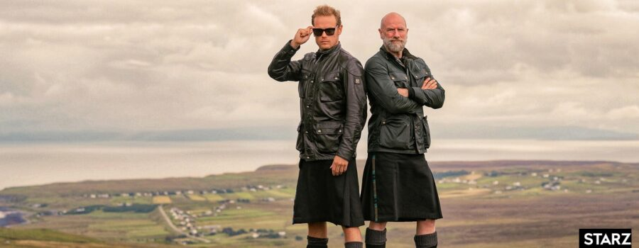 men in kilts, sam heughan and graham mctavish